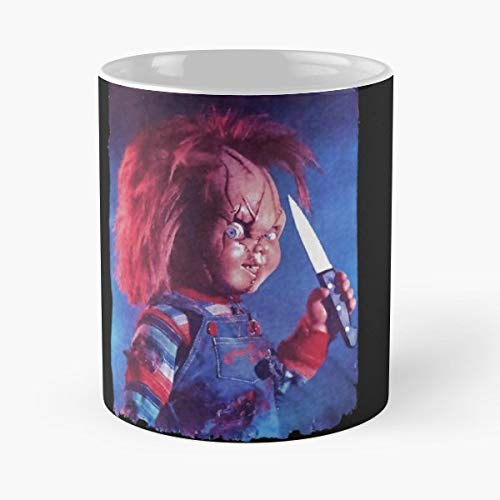 Halloween Chucky Doll Scary Gift Coffee/tea Ceramic Mug 11 Oz -