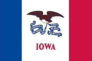 product image for Valley Forge Flag Made in America 3' x 5' Nylon Iowa State Flag