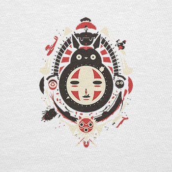 TEXLAB - Neighbors Mask - Herren Langarm T-Shirt, Größe L, weiß
