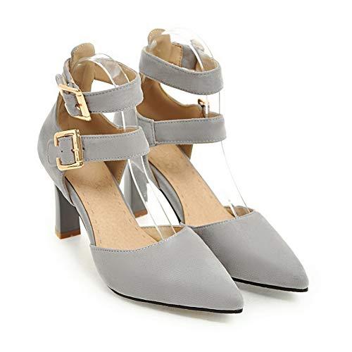 Sandales 1TO9 EU Inconnu MJS03542 Compensées 5 Gris Gris Femme 36 qRn4Uw7x