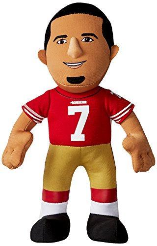 Bleacher Creatures NFL San Francisco 49ers Colin Kaepernick Player Plush Doll, 6.5-Inch x 3.5-Inch x 10-Inch, Red