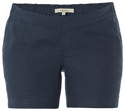 Noppies Kids Shorts Utb Jenna - Pantalones cortos Mujer Blau (Dark Blue C165)