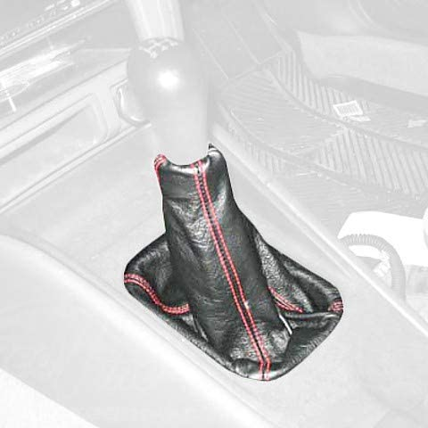 Black Alcantara-Blue Thread RedlineGoods ebrake Boot Compatible with Mitsubishi Lancer Evo 7//8//9 2001-07