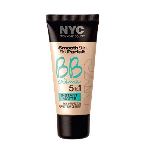 N.Y.C. New York Color BB Creme Foundation Matte, Medium, 1 Fluid Ounce