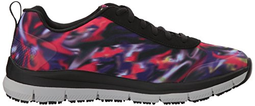 Skechers Women's Comfort Flex HC Pro SR Health Care Service Shoe Black/Multi discount purchase 6qGyJ