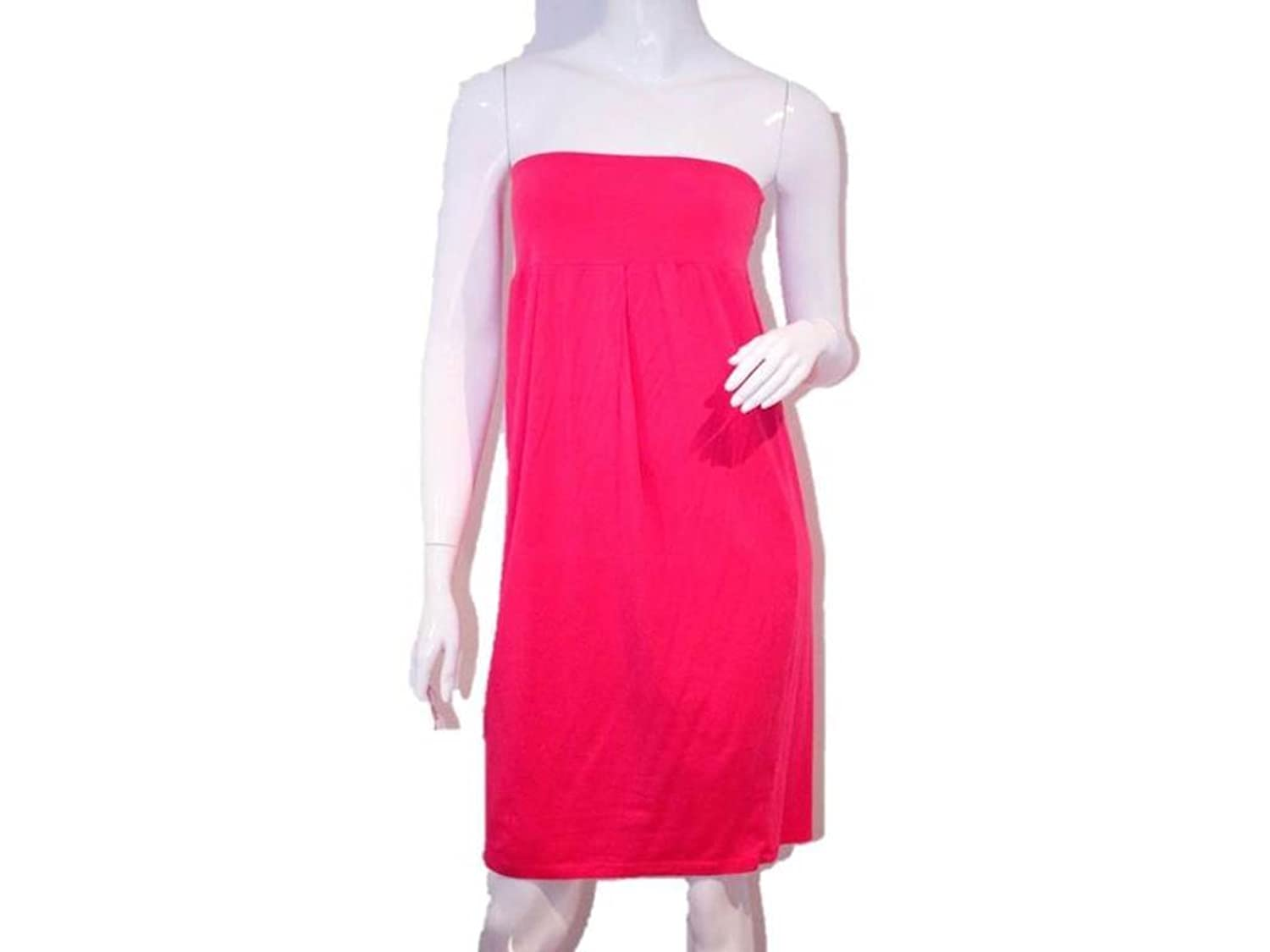 Splendid Women's Strapless Dress, Fuschia, L