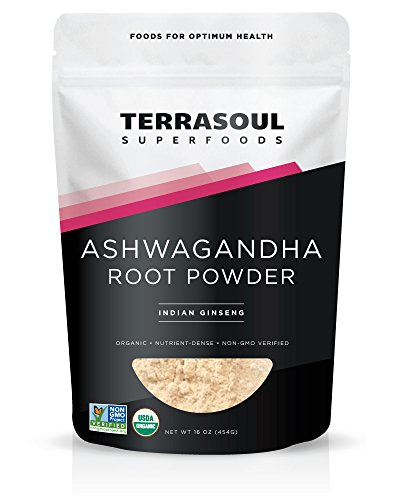 Terrasoul Superfoods Ashwagandha Root Powder (Organic), 16 ounces For Sale