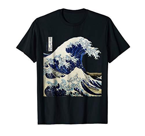 (Kanagawa Japanese The great wave T shirt)