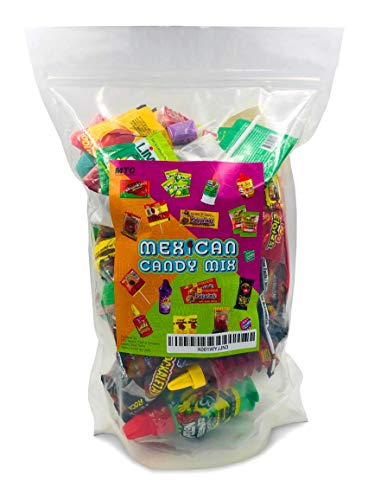 Mexican Candy Assortment Snacks (32 Count), Variety Of Spicy, Sweet, Sour Bulk Candies Dulces Mexicanos, Includes Lucas, Pelon, Vero Lollipops, Pulparindo Makes A Great Gift By MTC. by MTC (Image #2)