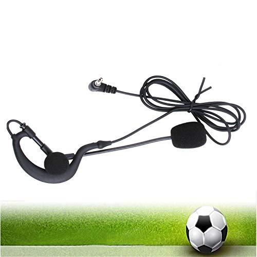 (Vnetphone Soccer Football Referee Intercom Microphone Headset Earphone and Coach Referee Headphones for V6/V4/FBIM Referee Intercom)