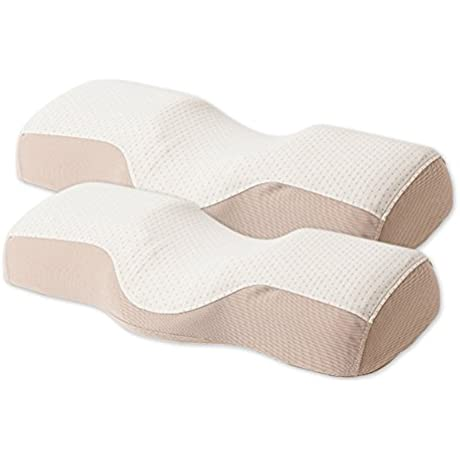 Enhappy Neck Support Sleep Pillow For Neck Pain 2EA SET Registered Patent In Korea