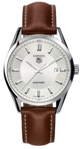 a1ce9f5ebf487 Image Unavailable. Image not available for. Colour  TAG Heuer Men s  WV211A-FC6203 Leather Carrera Watch