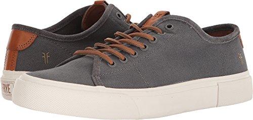 FRYE Men's Ludlow Low Tennis Shoe, Grey,