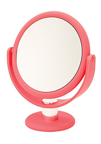Danielle Creations Ultra Vue Coral Vanity Mirror, 10X Magnification