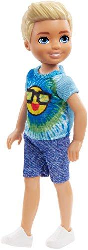 (Barbie Club Chelsea Boy Doll, Emoji Tie Die)