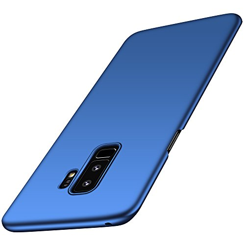 Anccer Samsung Galaxy S9 Plus Case, [Ultra Thin ][Anti Drop][Anti Shock][Heavy Duty Protection] Slim Hard Full Body Phone Cover for Galaxy S9 Plus (Not for Galaxy S9) (Blue)