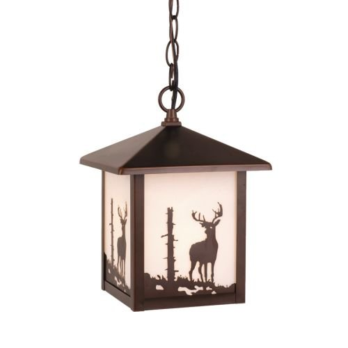 Vaxcel One Light Outdoor Pendant OD33586BBZ One Light Outdoor (Moose 2 Light Pendant)