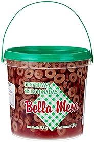 Balde Azeitona Preta Fatiada Bella Mesa 3,2kg
