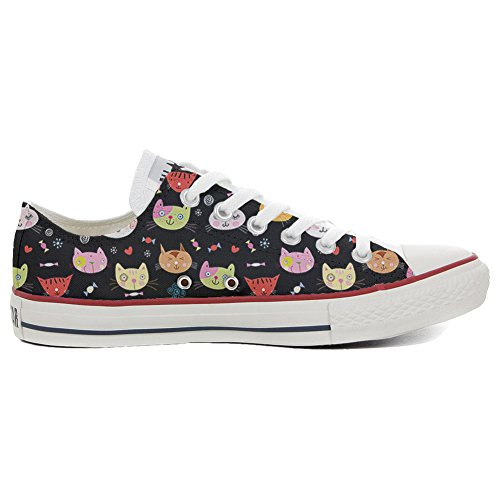 Converse All Star Slim chaussures coutume mixte adulte (produit artisanalPersonnalisé) My Little Kitten