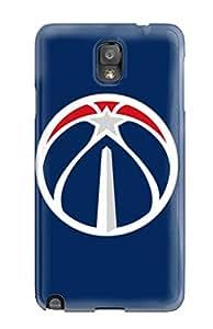 Hot JyRGNZL8748lldAv Case Cover Protector For Galaxy Note 3- Washington Wizards
