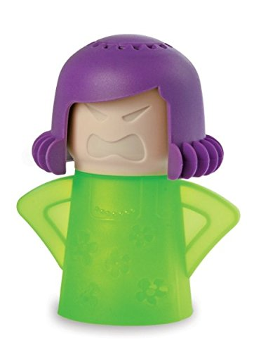 Angry Mama Microwave Cleaner - Green case