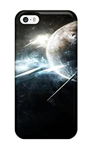 Awesome Planets Sci Fi People Sci Fi Flip Case With Fashion Design For Iphone 5/5s wangjiang maoyi