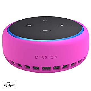 Made for Amazon Case for Echo Dot (3rd Gen) - Hot Pink