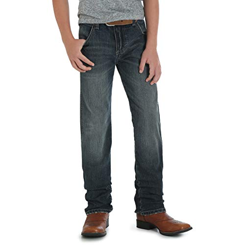 Wrangler Big Boys' Retro Slim Fit Straight Leg Jean, Jerome, 8 Reg -