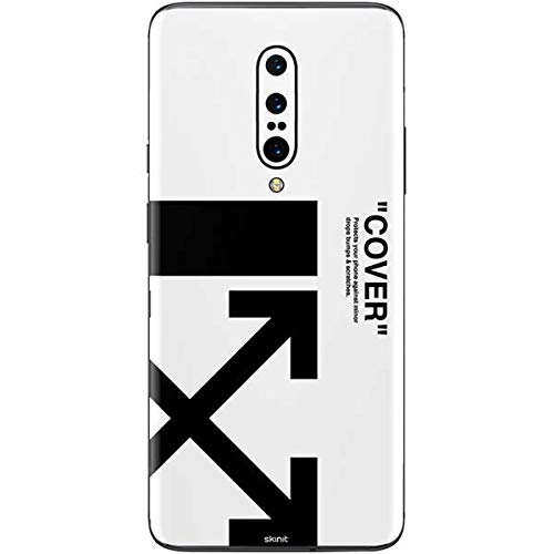 Skin White Arrow - Skinit Black and White Arrows OnePlus 7 Pro Skin - Streetwear Phone Decal - Ultra Thin, Lightweight Vinyl Decal Protection