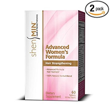 Shen Min Advanced Women Formula Hair Nutrient Tablet - 60 per pack -- 2 packs per case. by Shen Min
