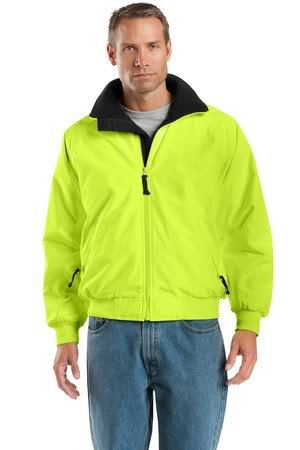 Port Authority Safety Challenger Jacket, Safety Yellow/True Black, ()