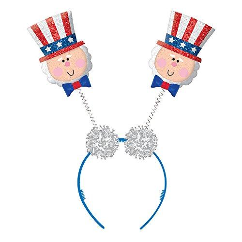 Patriotic Party Top Hat Head Bopper, 10