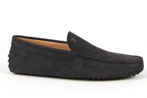 Tod's Mens Shoes Navy Gommino Slipper Moccasins USA Size 7 (Printed Size 6) T080