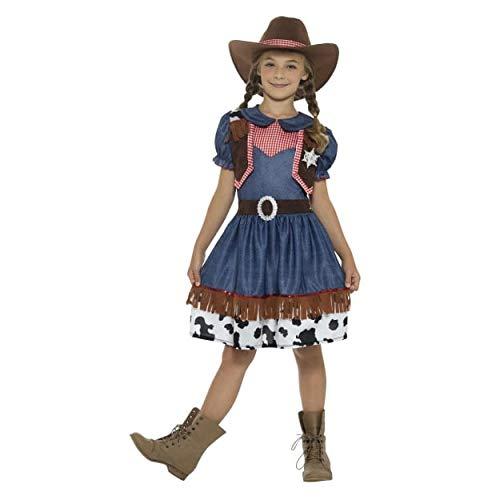 Smiffy's 4-6 Years Blue Girls Texan Cowgirl