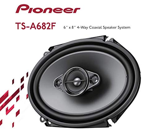 "Pioneer TS-A682F 6"" x 8"" 4-Way Speakers"