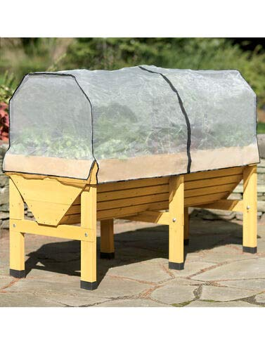 VegTrug Greenhouse Cover with Support Frame (Patio Cover Frame Steel)