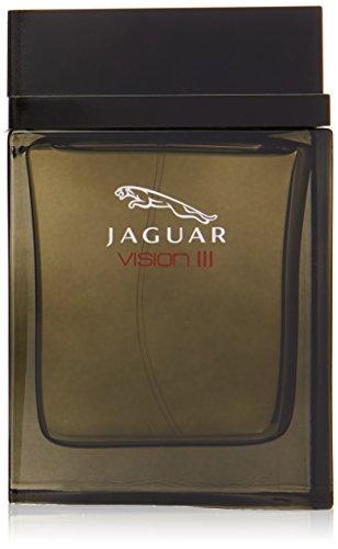 Jaguar Vision III Eau De Toilette Spray for Men, 3.4 Ounce ()