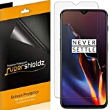 [6-Pack] Supershieldz for OnePlus 6T Screen Protector, High Definition Clear Shield + Lifetime Replacement