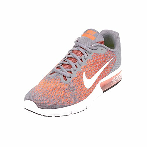 Air Max Grey Herren Cool Sequent NIKE max Laufschuhe Schwarz Orange White 6qPWZc5w