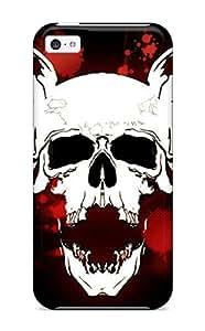 Iphone 5c Case Cover Skin : Premium High Quality Cool Skull By Itaroyanx Dxga Case