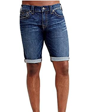 Men's Ricky w/ Flap Jean Shorts in Lake View