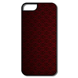 Alice7 Red Case For Iphone 5,Cool Iphone 5 Case hjbrhga1544