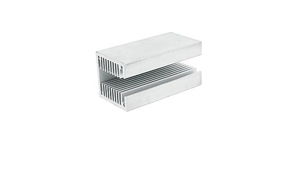 80mm X 40mm X 40mm aluminio calor Radiador Disipador térmico Enfriamiento Aleta
