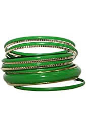 Lux Accessories Womens Tribal Bangle Bracelet Multi Set