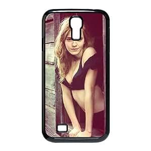 Qxhu Emma Watson patterns Hard Plastic Back Protective case for SamSung Galaxy S4 I9500
