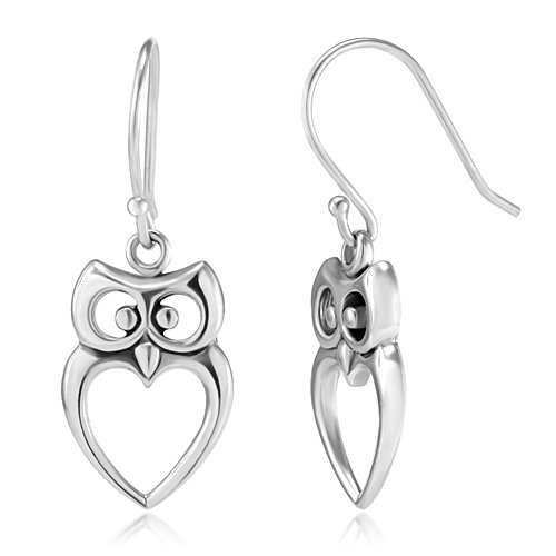Sterling Silver Cut Out Dangle Earrings product image