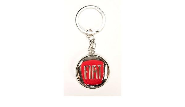 Fiat logo rojo llavero: Amazon.es: Deportes y aire libre