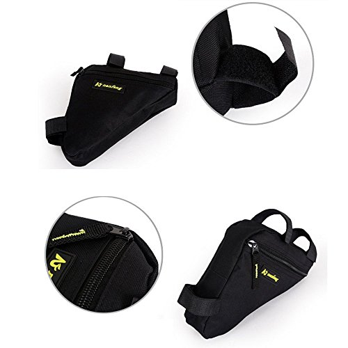 Juemenzhe Sport Bicycle Bike Storage Bag Triangle Saddle Frame Strap-On Pouch for Cycling by Juemenzhe (Image #3)
