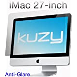"Kuzy - Anti-Glare Matte Screen Protector Filter for 27 inch iMac Desktop Display 27"" Model: A1312 and A1419 - ANTI-GLARE"