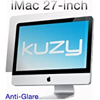 Kuzy - Anti-Glare Matte Screen Protector Filter for 27 inch iMac Desktop Display 27 Model: A1312 and A1419 - ANTI-GLARE